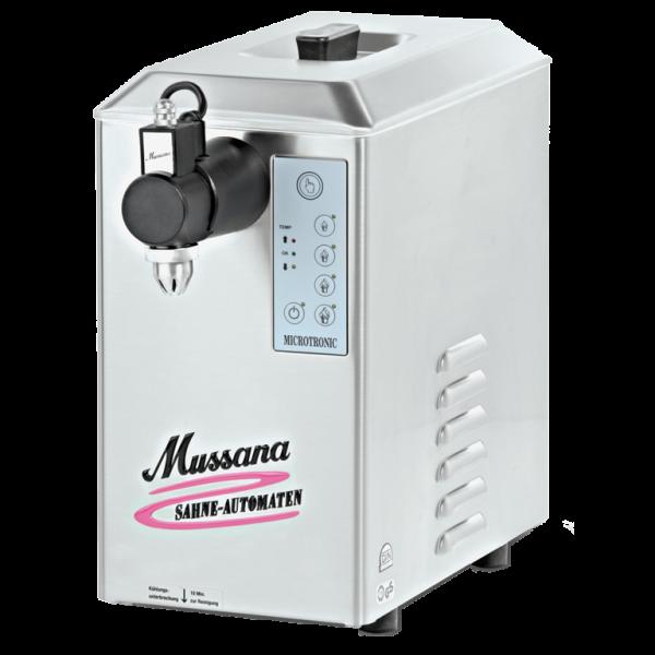 mussana slagroommachine 2 liter - slagroomautomaat.nl