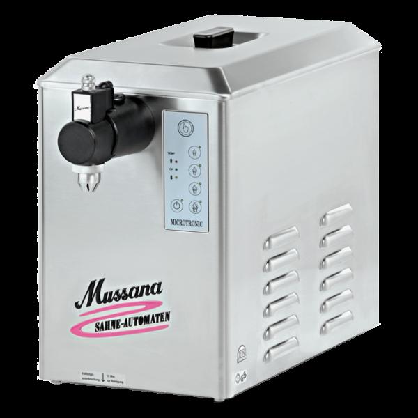 Mussana slagroommachine 4 liter - slagroomautomaat.nl